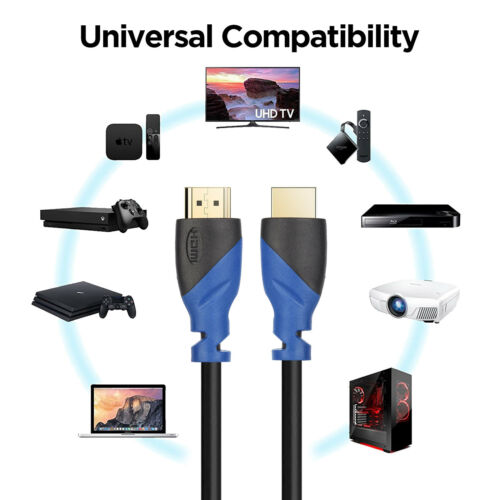 2.0b 10m 4K @ 50//60Hz 2160p High Speed Supports HDCP 2.2 Lot HDMI Cable