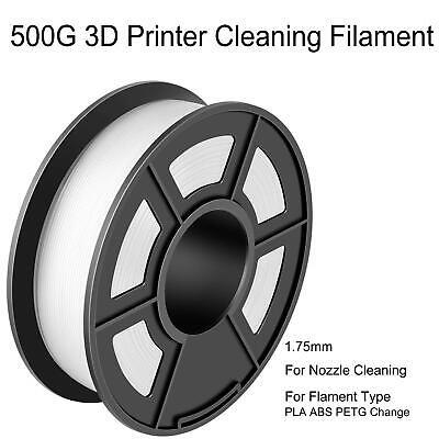 500G 3D Printer Cleaning Filament 1.75mm For FDM 3D Printer PLA ABS PETG US Ship