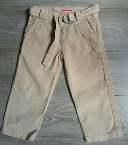 Pantalon-beige-cotele-ZIPPY-8-ans-tbe