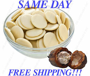RAW COCOA BUTTER Natural Chocolate Aroma ORGANIC FRESH 100% Pure FREE SHIPPING