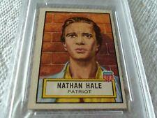 1952 Topps Look /'N See #11 Nathan Hale FAIR