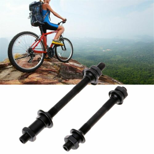 MTB Bicycle Quick Release Front Back Axles Hollow Hub Shaft Lever Bike j