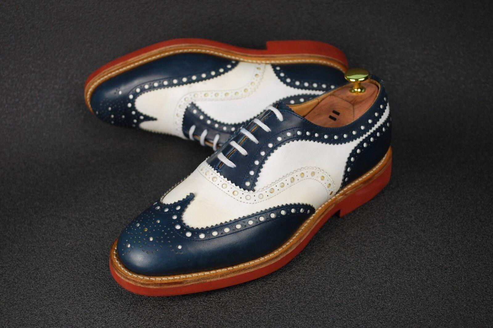 Church'S DOWNTON 2 Hecho en Inglaterra Zapatos Brogue Oxford 41 8US 7G Reino Unido