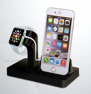 Detalles de Dockingstation Apple iPhone 6 6S 7 8 Cargador Usb De Reloj XS X Docking Station Dock ver título original