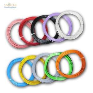 (0,56€/m) 10m flexible Litze 0,50mm² Kabel, Kupferlitze Leitung Schaltlitze LiYv