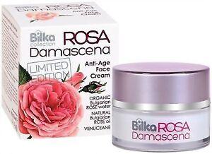 Bilka Rosa Damascena Verjüngende Anti Age Gesichtscreme Natürliches