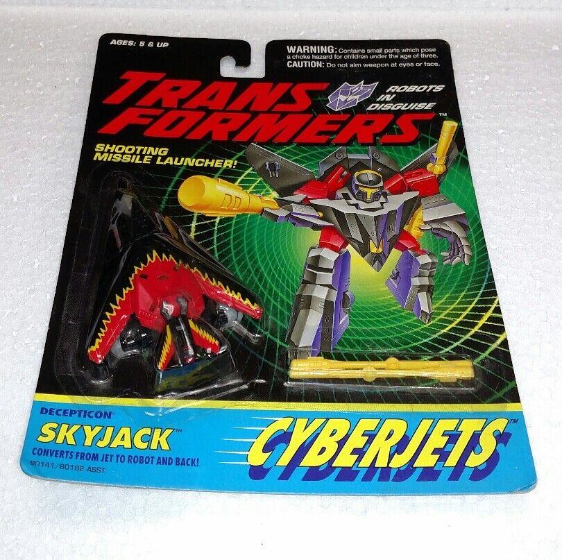Transformers Decepticon requisar se convierte de chorro a robot cyberjets Nuevo