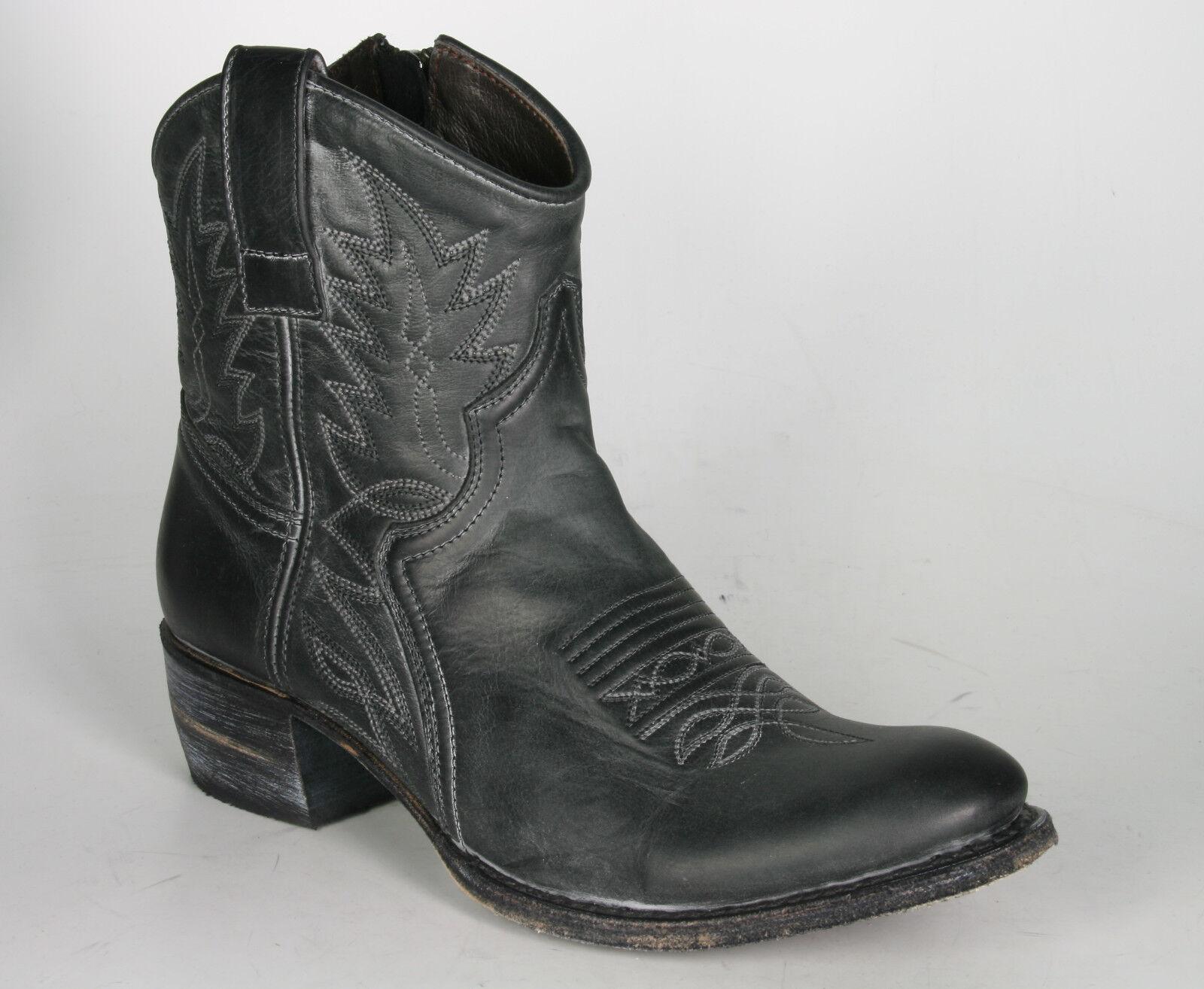 Grandes zapatos con descuento 10163 Sendra Ankelboots Antracita Rahmengenähte Stiefeletten Bohostyle