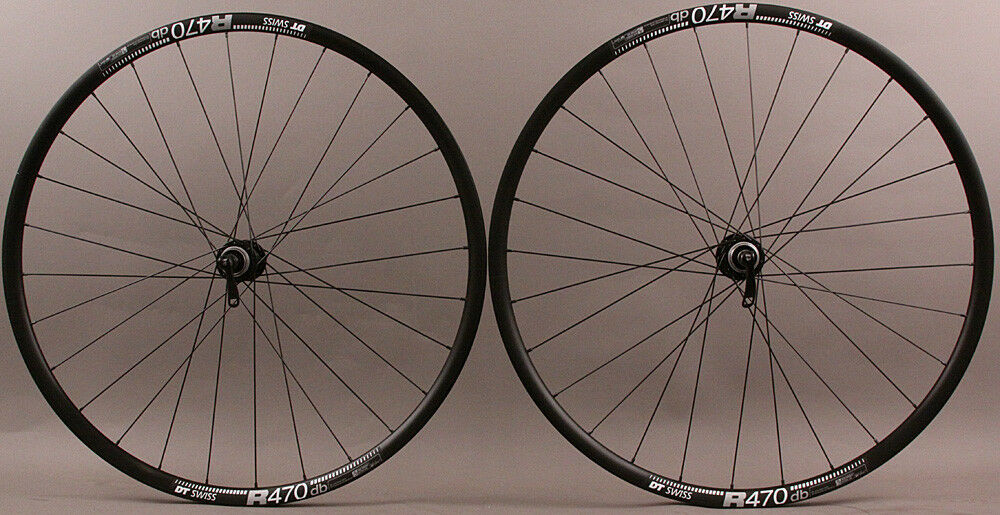 DT R 470 Road Disc  Brake Gravel CX Bike Wheelset 28 hole Origin8 RD-1120 hubs QR  very popular