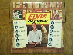 Elvis Presley – Elvis For Everyone! - 1968 - RCA Victor LSP-3450 Vinyl LP EX/VG!
