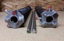 50 1//2 Garage Door Torsion Springs Pair 262 x 2 with Winding Rods Center Nylon Bushing
