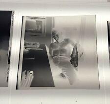 Vintage Negativas 1950s Of a Macho Interesante Pose 6.3cm By 6.3cm Gay ? n1108