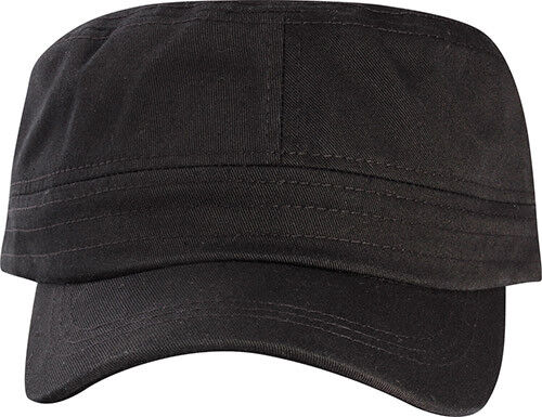 Simple Plain Color Cotton Cadet Castro Cap Hat