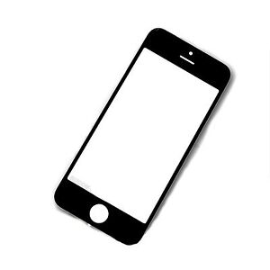 Fuer-Iphone-5-5S-Display-Glas-LCD-Window-Front-Scheibe-Touch-Screen-Schwarz