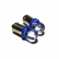 2x Blue Wide-Angle LED [233,T4W,BA9S] 12v Side Light/Interior Bulbs