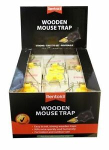 Rentokil-Strong-Wooden-Mouse-Traps-For-Indoor-amp-Outdoor-Kills-Quick-amp-Humanely