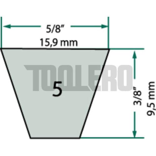 Correas trapezoidales para Iseki 15,9 x 838 la 769 li
