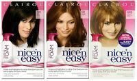 3 x Clairol Nice n Easy Colour Blend Foam Permanent Hair Dye - Many Colours