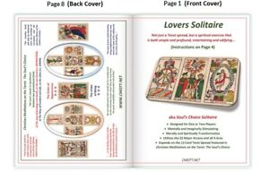 034-Lovers-Solitaire-034-Tarot-Meditation-includes-Marseille-Trumps-Aces-amp-Booklet