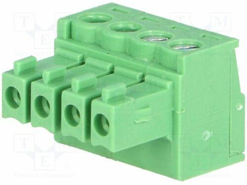 3.5mm fema ways:4 straight 15EDGK-3.5//4P Pluggable terminal block plug