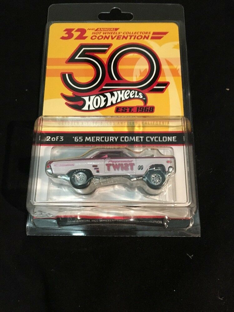 "Hot Wheels 2018 LA Convention ""Peppermint Twist"" 65 Comet Cyclone"