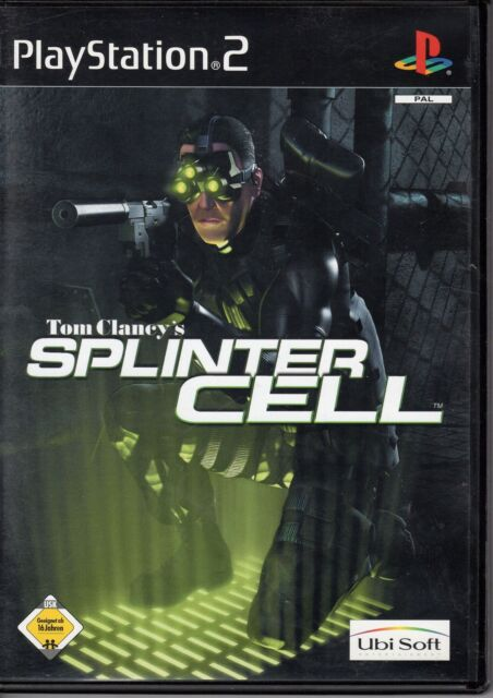 Tom Clancy's Splinter Cell für PlayStation 2  komplett  2 DVD neuwertig
