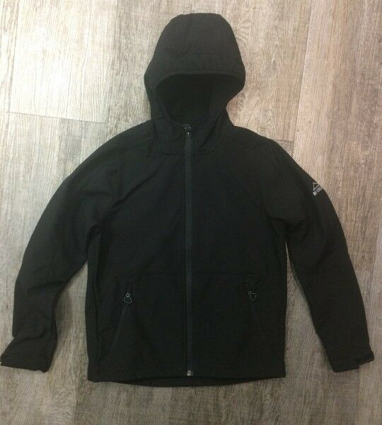 McKinley niños Softshell chaqueta Melmoth winndicht winndicht winndicht impermeable negro nuevo 5b82e4