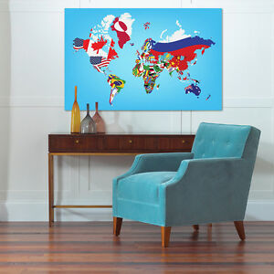 3d flag world map 769 wall stickers vinyl murals wall print deco image is loading 3d flag world map 769 wall stickers vinyl publicscrutiny Choice Image