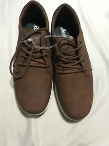 bass mens casual shoes size 105 lace up brown  ebay