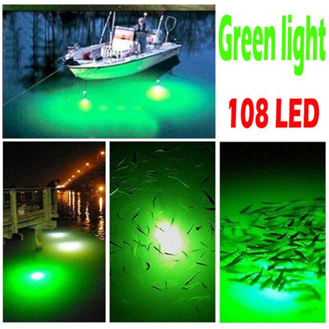 Deep Drop Fishing Light W// CLIP Green LED 2100 ft Swordfish Tilefish Grouper