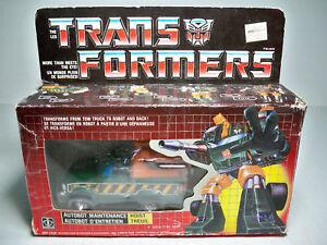 05821 Transformers Hoist Mib Style Canadien 100% Comp