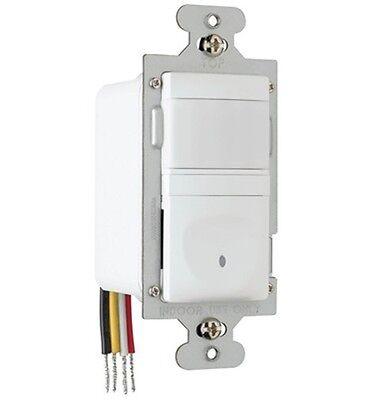 (10 pc) P&S 600W Occupancy/Vacancy Wall Sensor Single Pole/3 Way WHITE RW3U600-W
