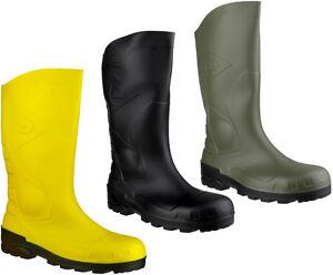 Dunlop-H142611-Devon-Full-Safety-Wellington-Boots-Steel-Toe-Cap-Unisex-Wellies