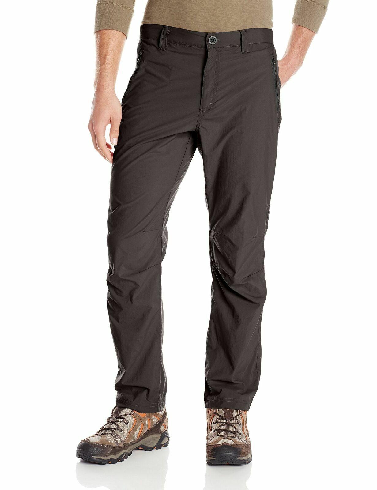 W 30-42 Men/'s Bi-Stretch Trousers Straight Leg Zip Fly Pant Black Sizes