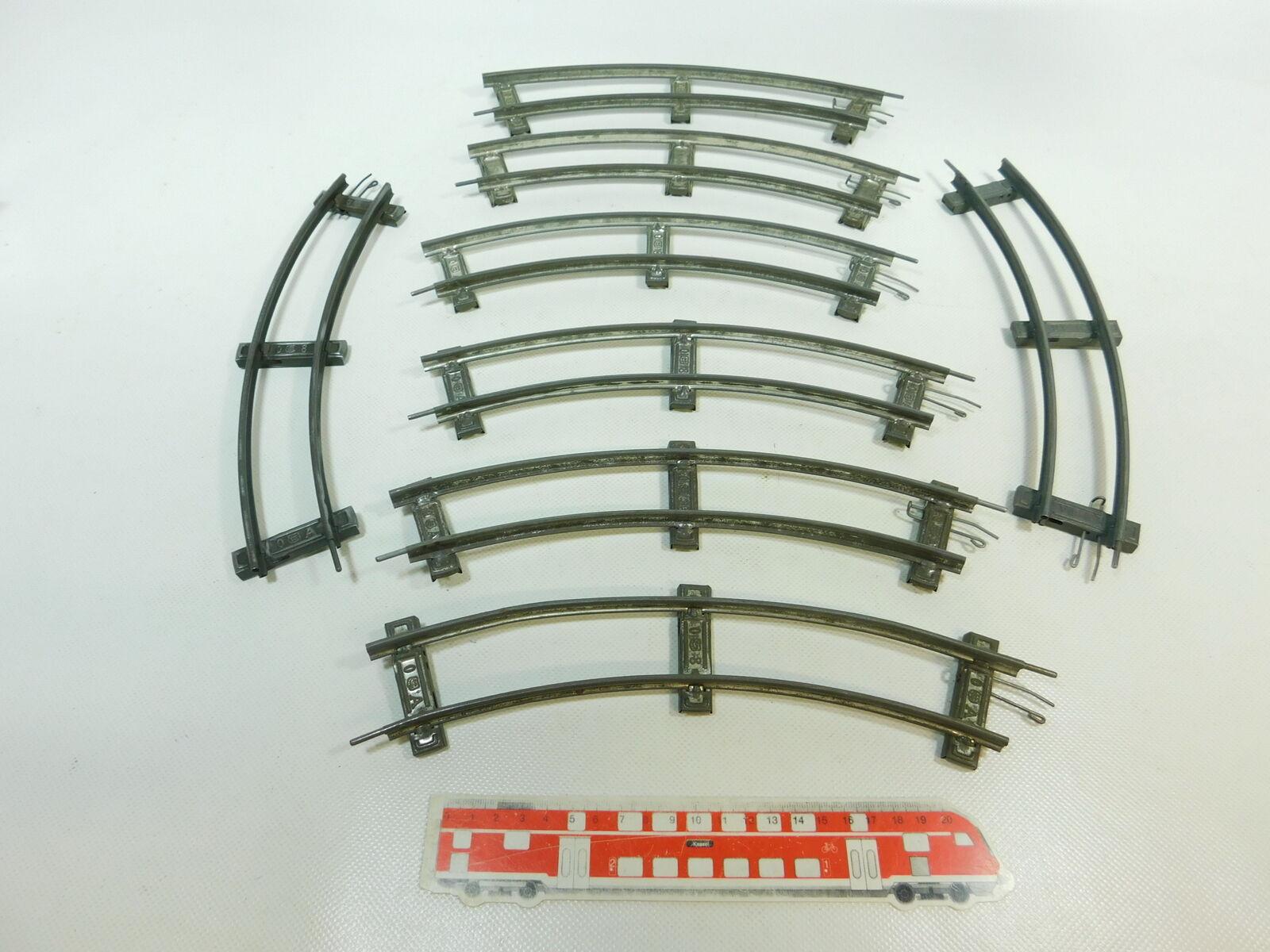 BR857-1 x Märklin Escala 0 Piezas de vía Curvo 8 Círculo para Accionamiento