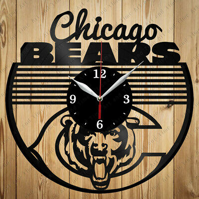 Details about  /Chicago Vinyl Record Wall Clock Decor Handmade 4324