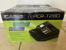 Casio Pcr T280 Electronic Cash Register