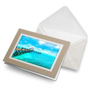 Greetings-Card-Biege-Cancun-Beach-Resort-Mexico-3039