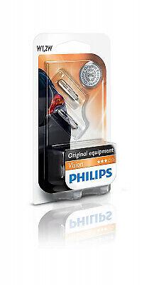 Lampada Lampadina Philips W1.2W - W2.3W - W2W - WBT5 12V1.2W W2x4.6d B2