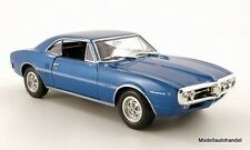 Pontiac Firebird 1967 metallic-blau  - 1:24 WELLY
