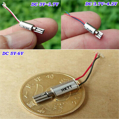 1PCS DC3-5V 612 Coreless Motor 6*12mm Micro Vibration Motor with Eccentric Wheel