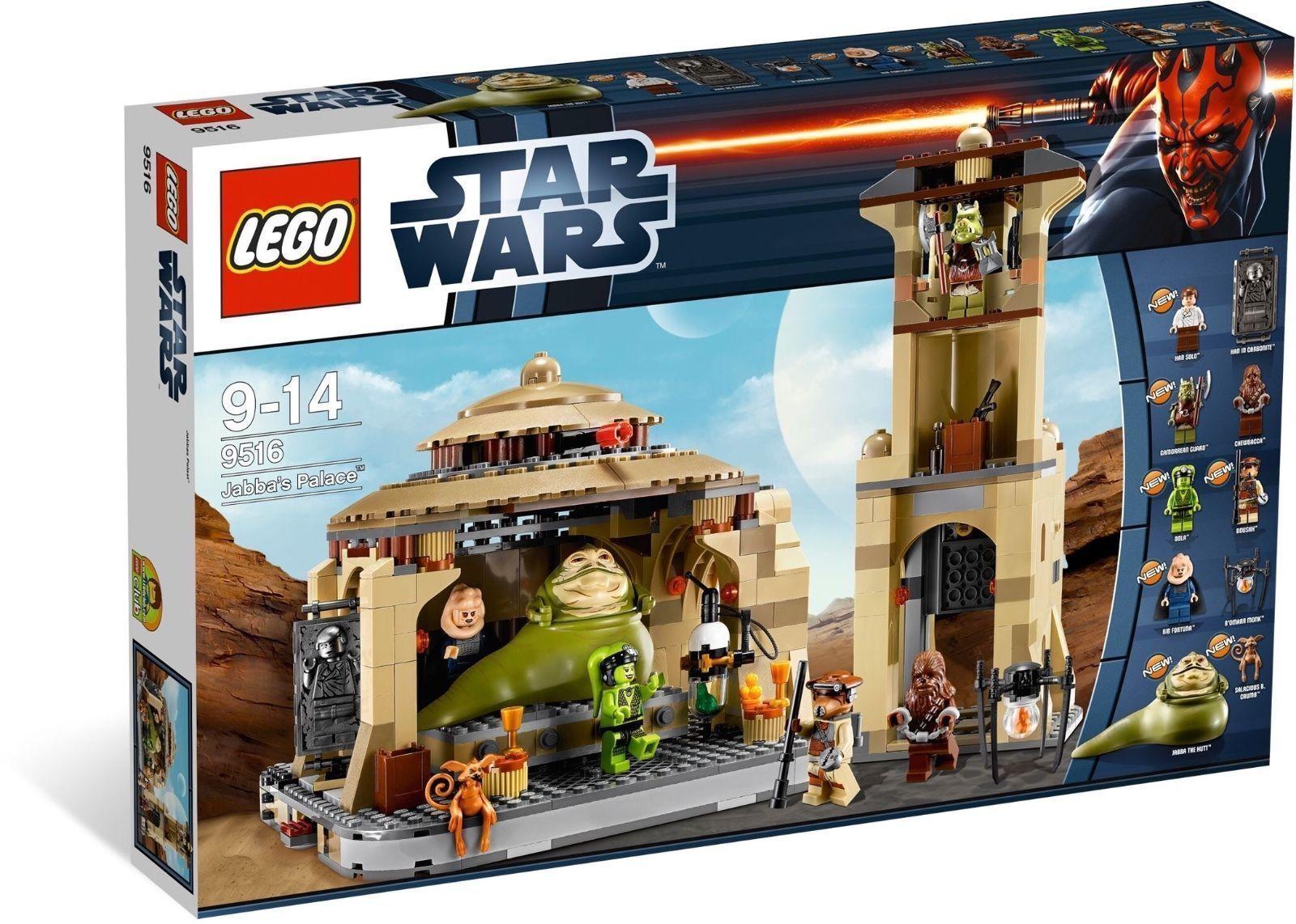stjärnornas krig Lego tog tillbaka JABBA'S PALACE BRAN NY I låda