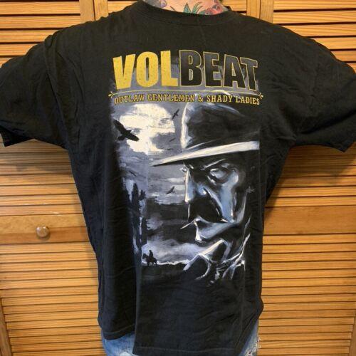 2013 VOLBEAT Tour Shirt Outlaw Gentleman & Shady L
