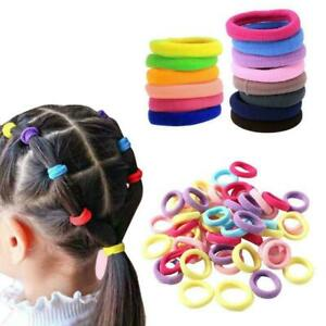 50Pcs-Kids-Girl-Lady-Elastic-Rubber-Hair-Bands-Ponytail-Holder-Ties-Rope-H-E0P4