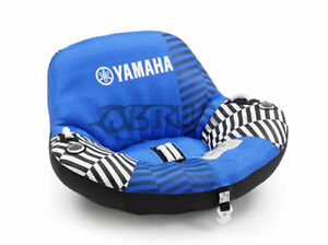 Genuine Yamaha Blue Inflatable Towable Chair Jetski Speedboat Ebay