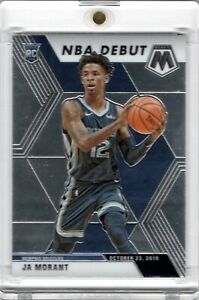2019-Panini-Mosaic-NBA-Debut-274-Ja-Morant-Rookie-RC-Grizzlies-GEM-MINT