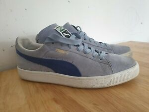 Puma Suede Classic Size 6 Light Blue | eBay