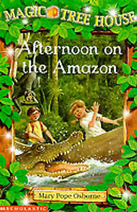 Afternoon-on-the-Amazon-Magic-Tree-House-by-Mary-Pope-Osborne-Good-Used-Book