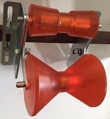 Sliphilfe Anfahrhilfe Kielrollenhalter Stoltzrollen RP8 /& RP87 Slipprolle