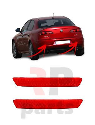 Rear Bumper Left Reflector Light Alfa Romeo 159 2005-2012
